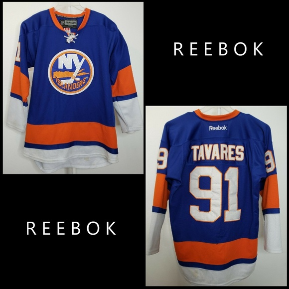 wholesale dealer 21d39 4bea1 NHL Reebok Jersey New York Islanders John Tavares